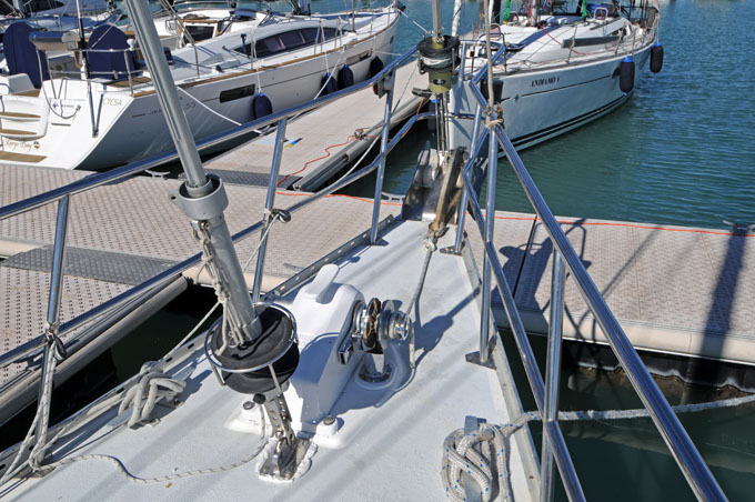 Adams 53 Pilothouse Sailing Yacht
