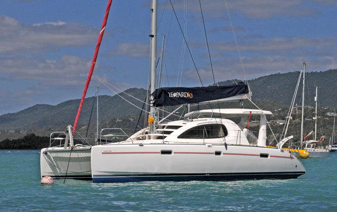 Leopard 40 Sailing Catamaran