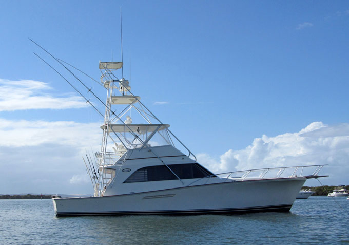 Ocean Yachts 48 Super Sport - includes GBRMPA Permit